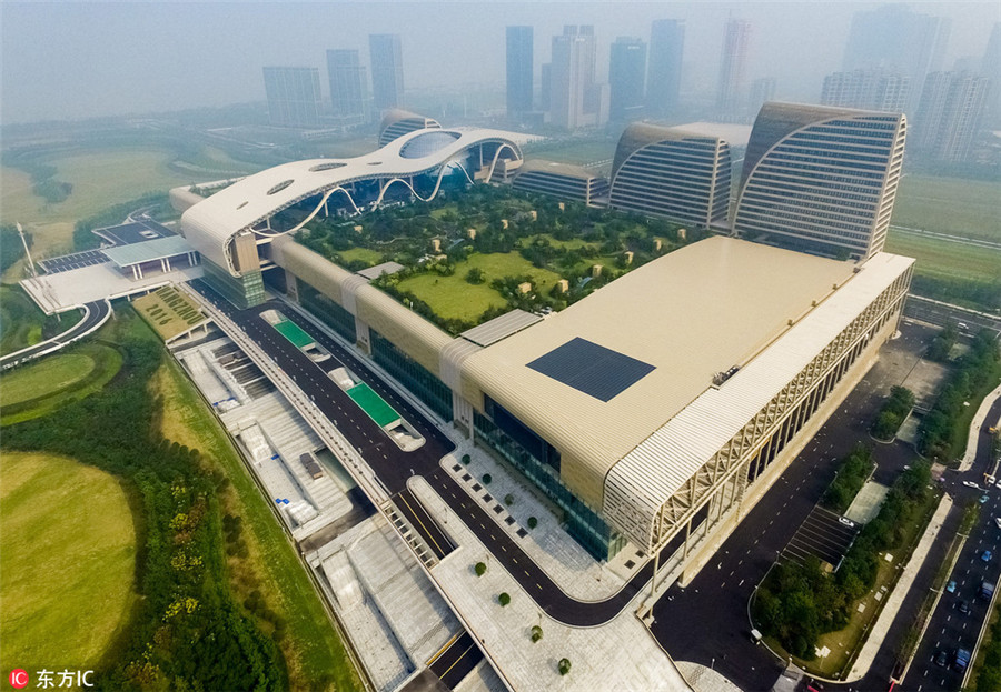 Hangzhou opens G20 summit arena to general public