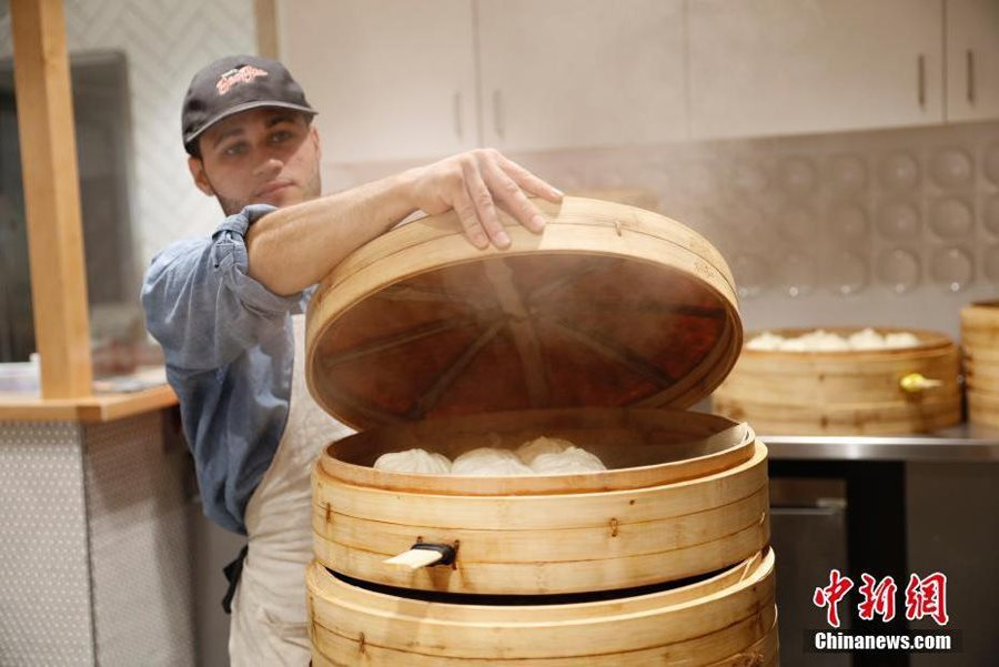 Chinese baozi shop gains popularity in Harvard Square