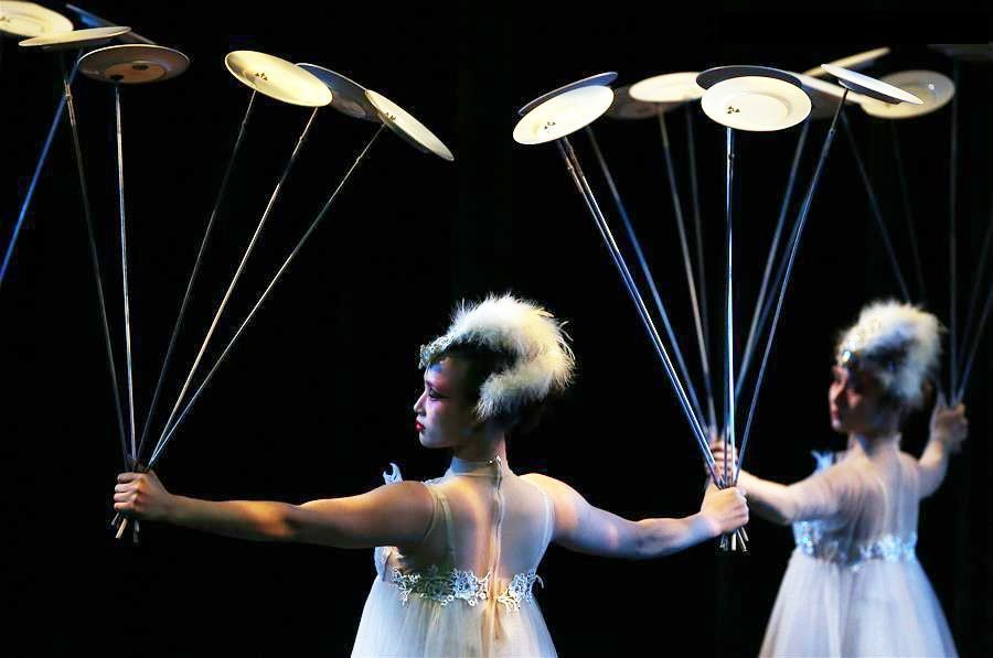Acrobats from China perform in 'Dream Journey' in US