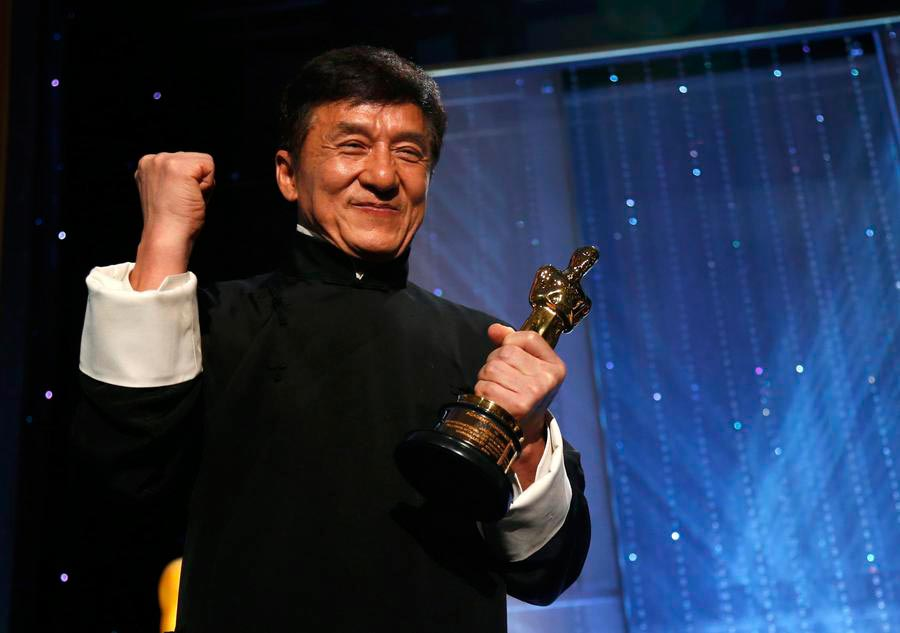 Chinese actor Jackie Chan among winners of Academy's Honorary Award