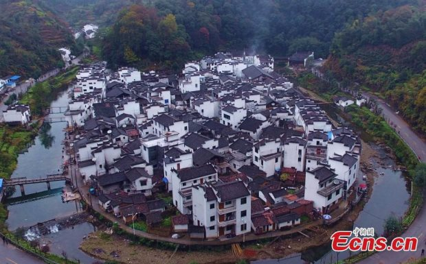 Visit China's 'round village' in Jiangxi