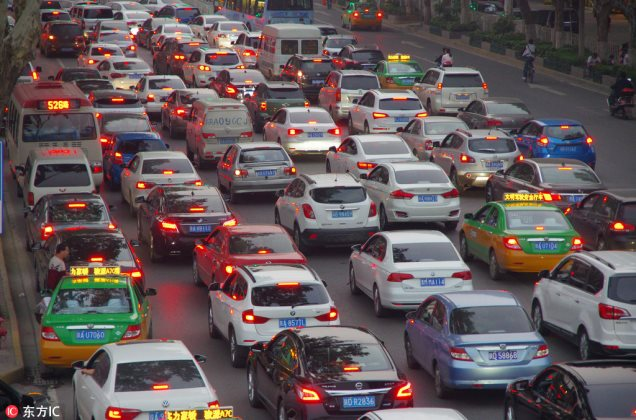 Top 10 congested cities in China