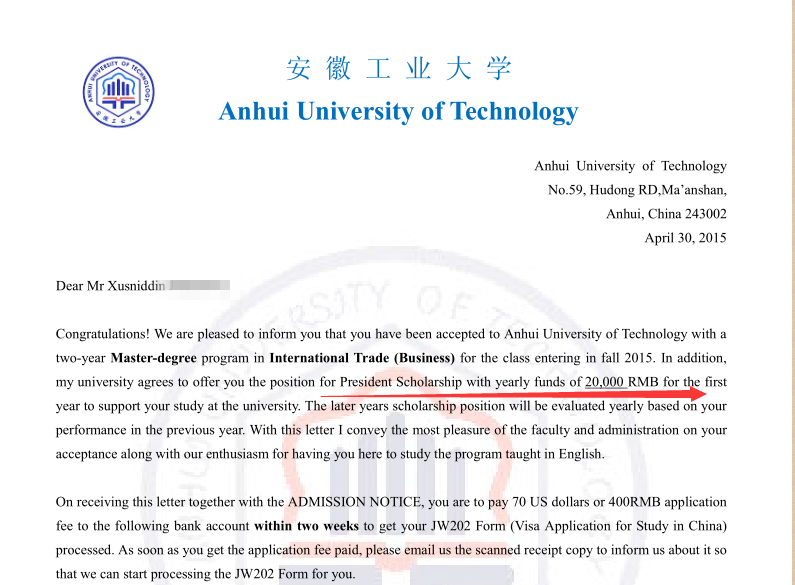 Students Apply For Ahut Through At0086 Are Awarded Scholarship